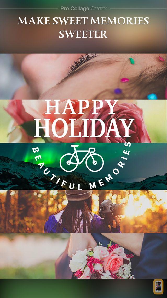 Screenshot - Pro Collage Creator Max - Photo Collage Editor & Layout & beauty Camera & sticker