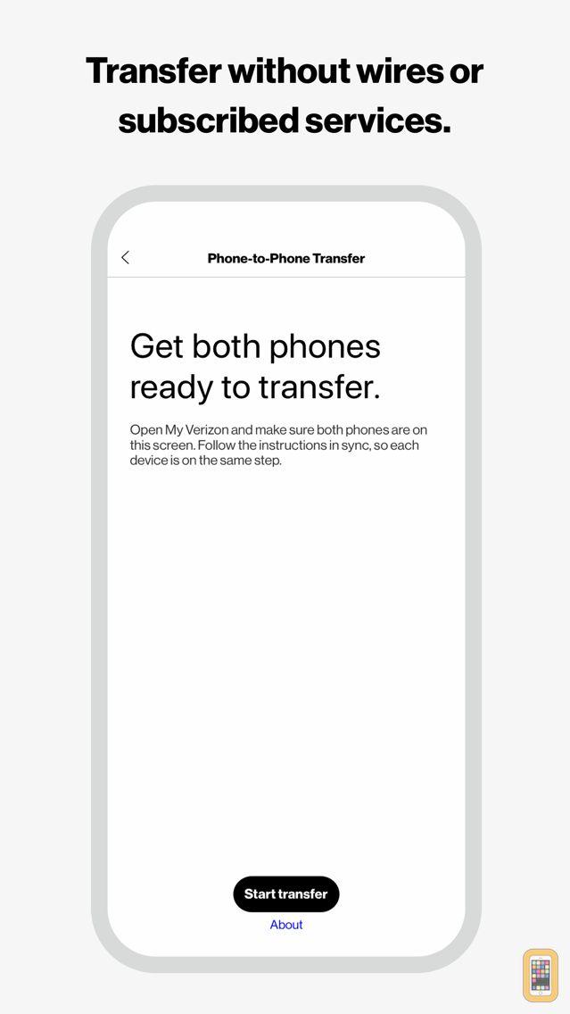 Screenshot - Verizon Content-Transfer