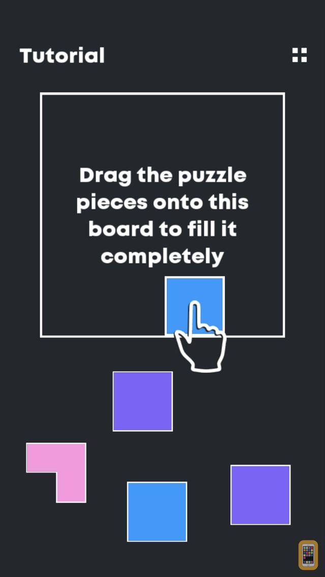 Screenshot - Fill me up - Block Fitting Puz