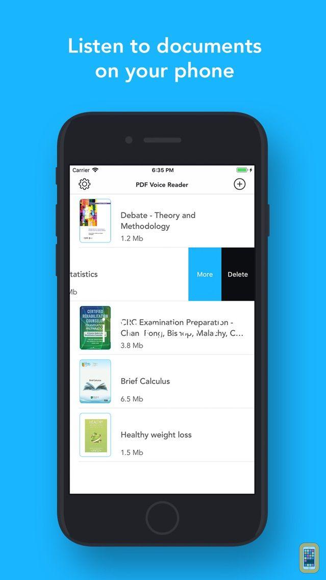 Screenshot - PDF Voice Aloud Reader