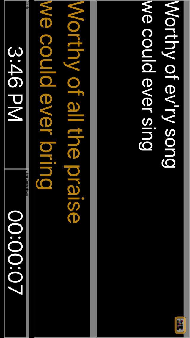 Screenshot - ProPresenter Stage