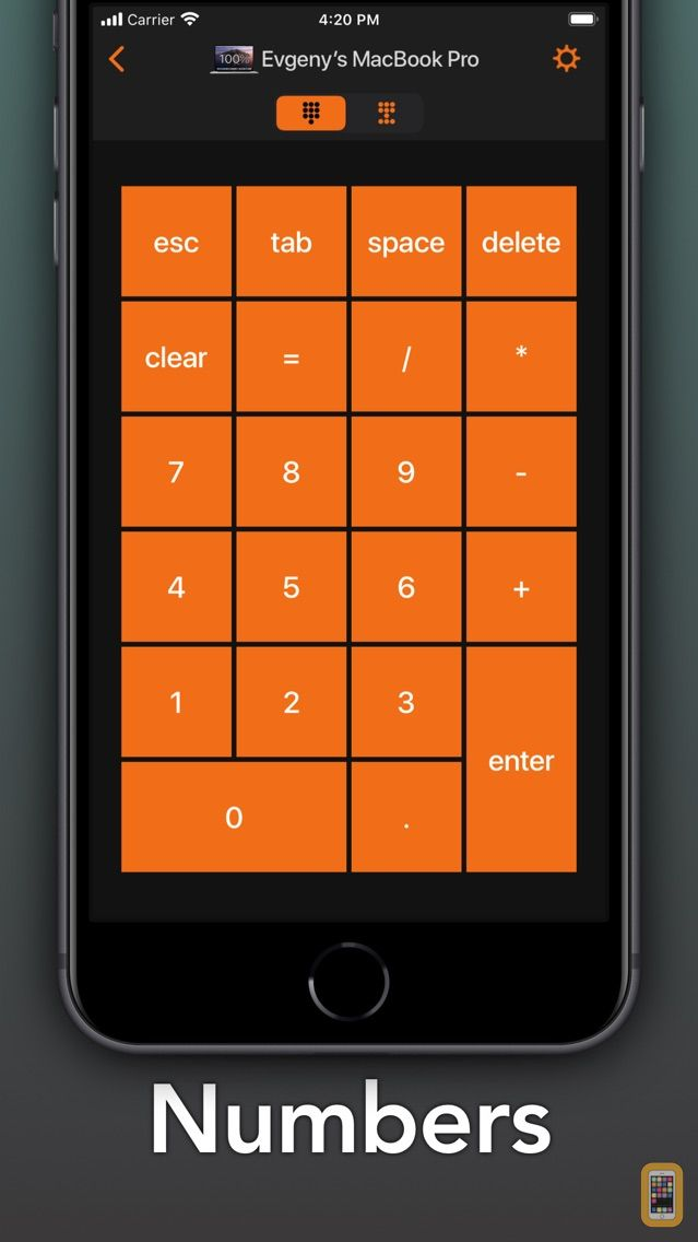 Screenshot - Remote KeyPad & NumPad [Pro]