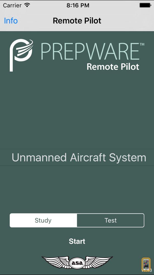 Screenshot - Prepware Remote Pilot