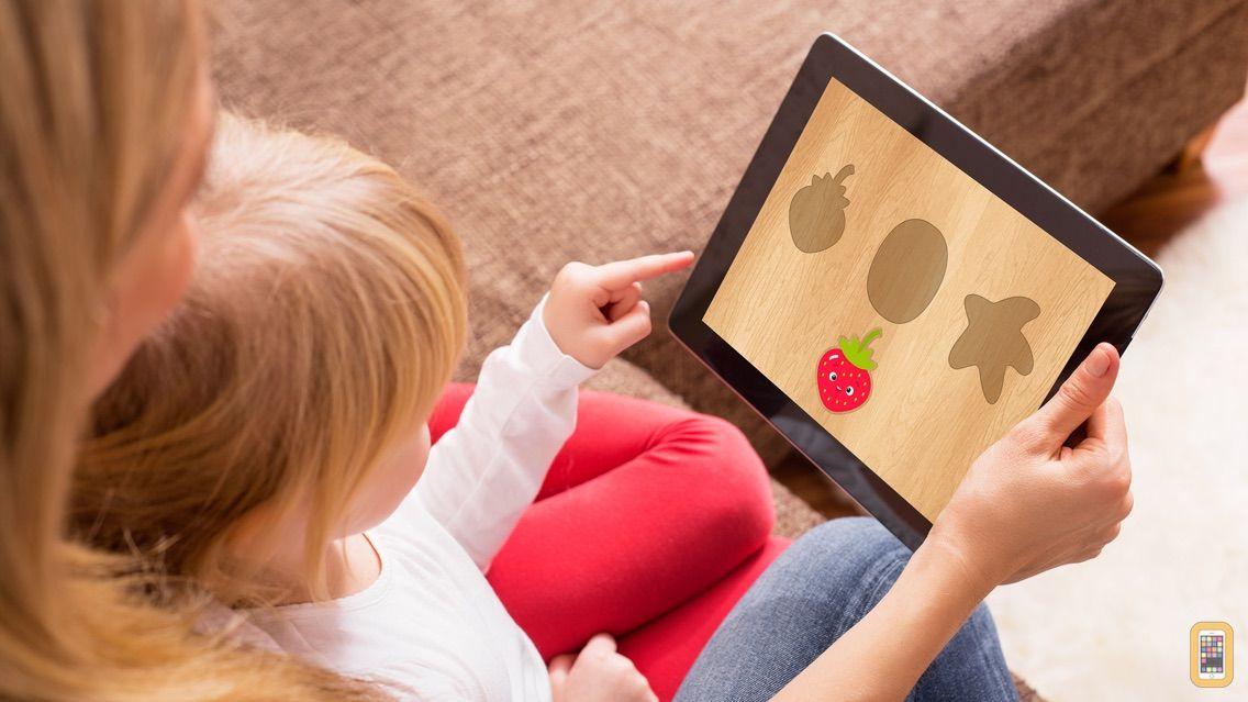 Screenshot - Sorting Baby Blocks: children's educational puzzle