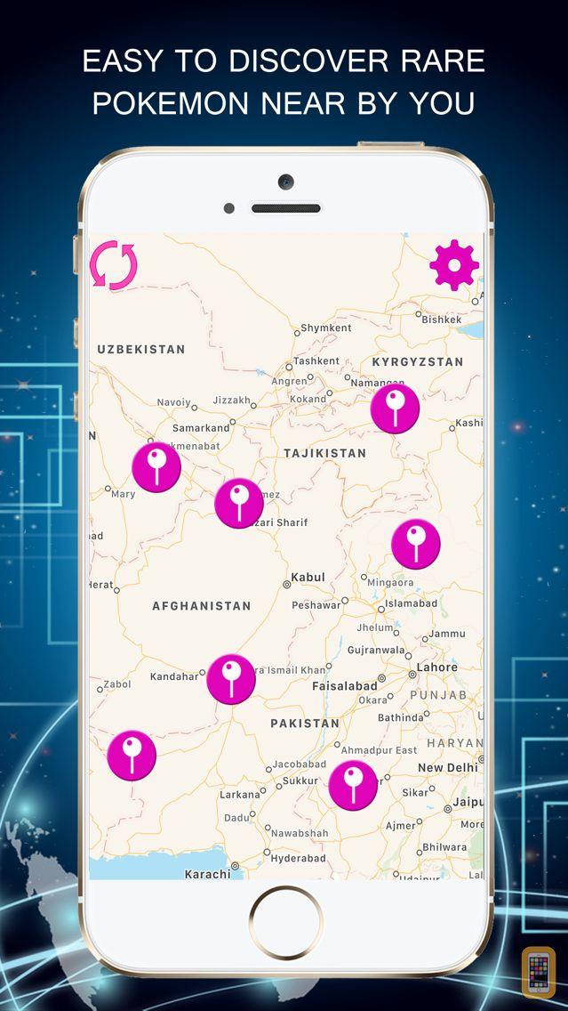 Screenshot - PokeRadar - Poke Map Finder