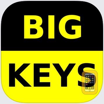 Big Keys Low Vision Keyboard by N Thorn (iPad)