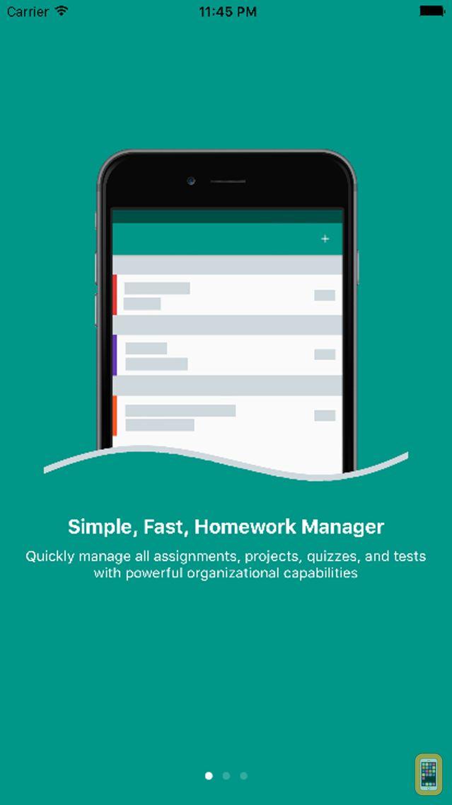 Screenshot - Egenda - Homework Manager