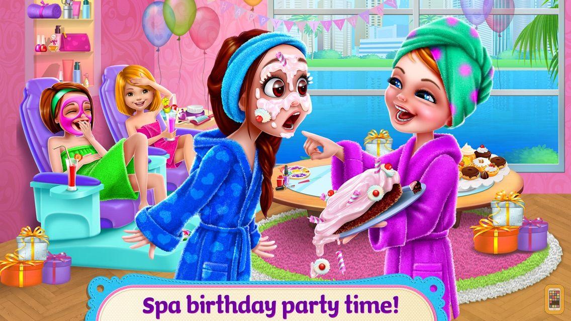 Screenshot - Spa Birthday Party - Nails, Hair, Dress Up & Cake