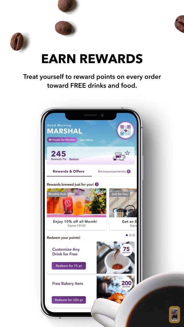 Screenshot - The Coffee Bean® Rewards