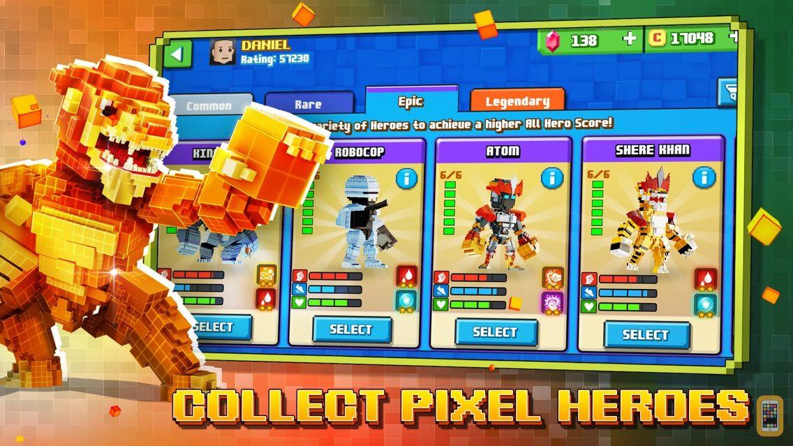 Screenshot - Super Pixel Heroes : Casual Arcade Action