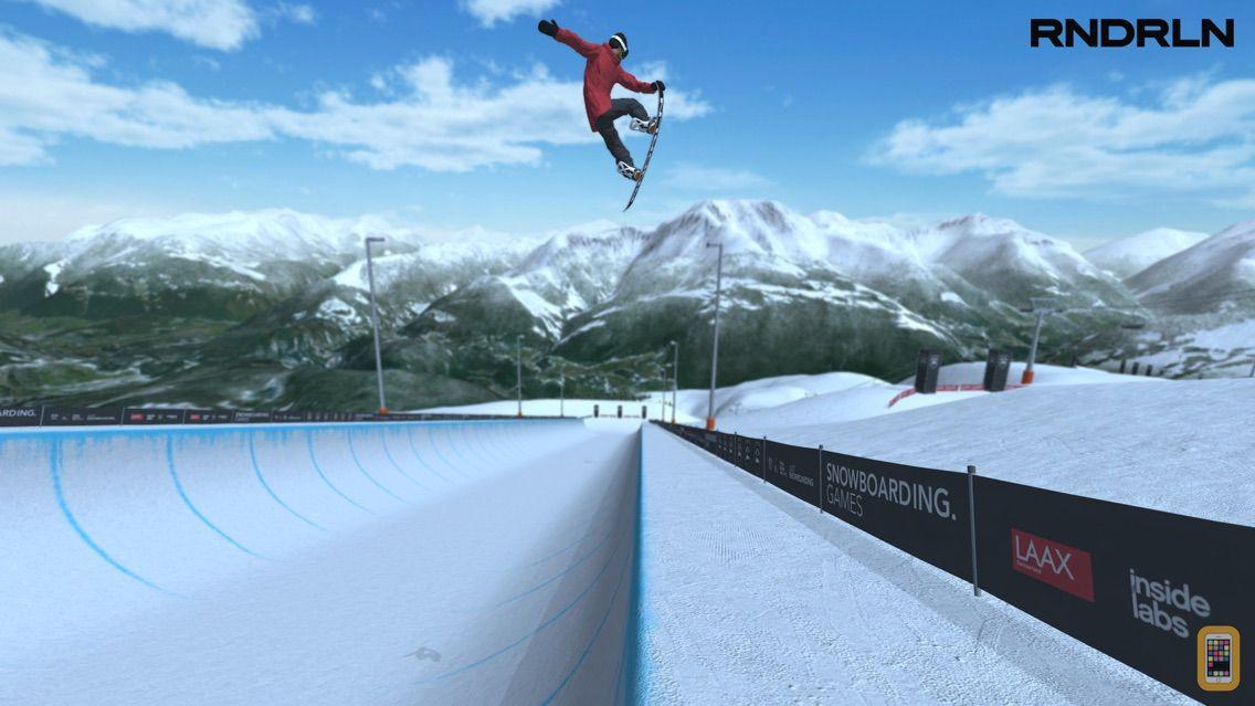 Screenshot - Just Snowboarding