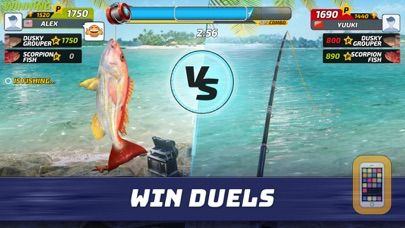 Fishing clash fish game 2018 for iphone ipad app info for Fishing tournament app
