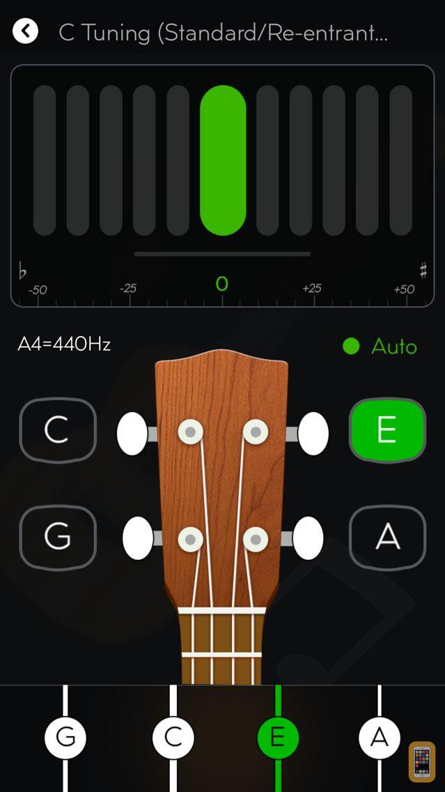 Screenshot - Tunefor Ukulele tuner & chords