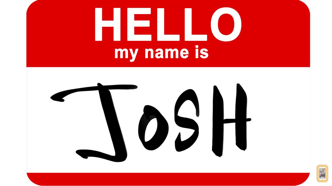 Screenshot - Graffiti Sticker - Hello my name is
