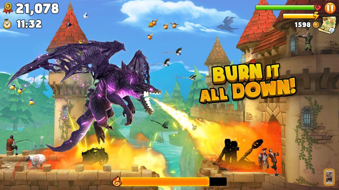 Screenshot - Hungry Dragon ™