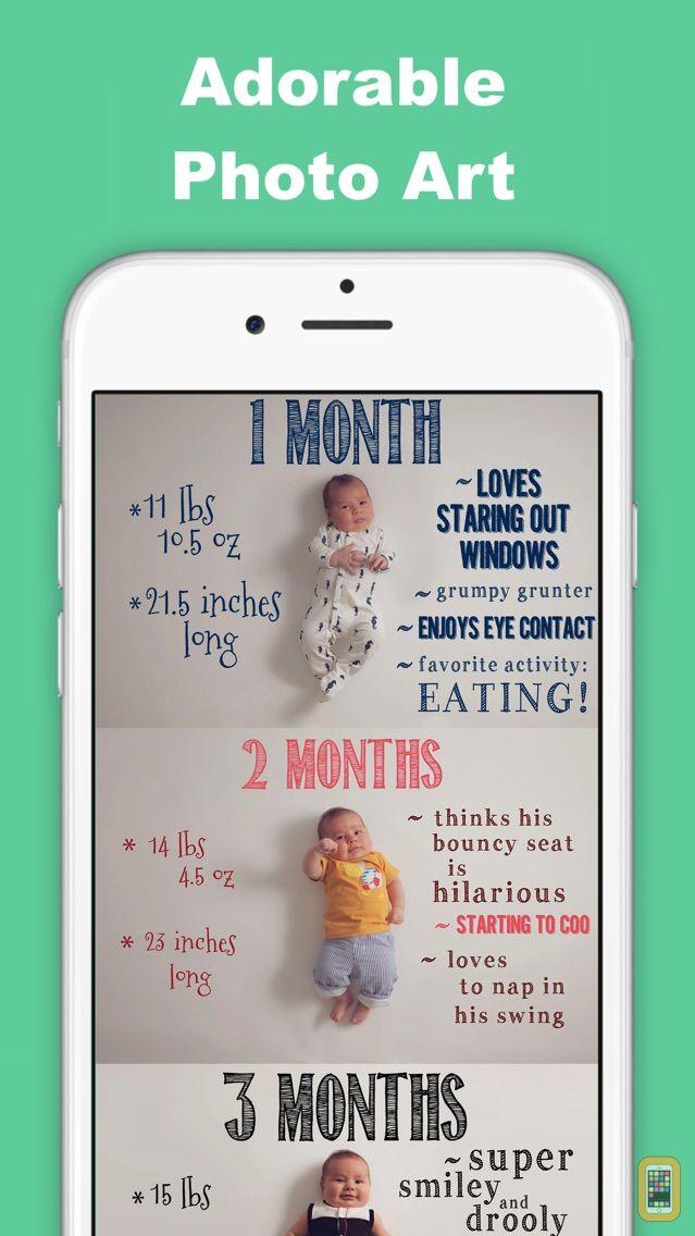 Screenshot - SnapBaby - Baby Pics to Video Story for Milestones