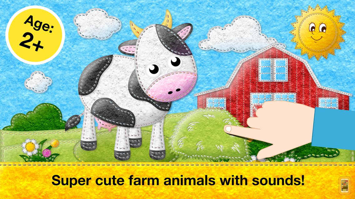 Screenshot - Feed Animals: Toddler games for 1 2 3 4 year olds