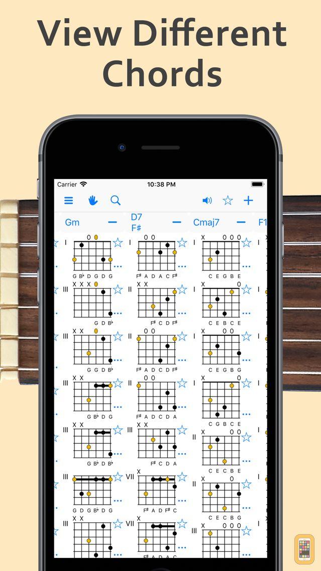 Screenshot - ChordAid: Chord Reference