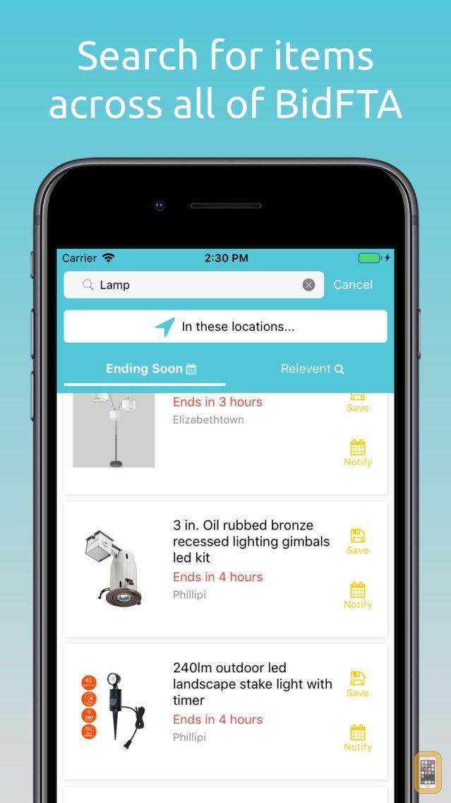 Screenshot - FTSearch - Fast Track Bid Tool