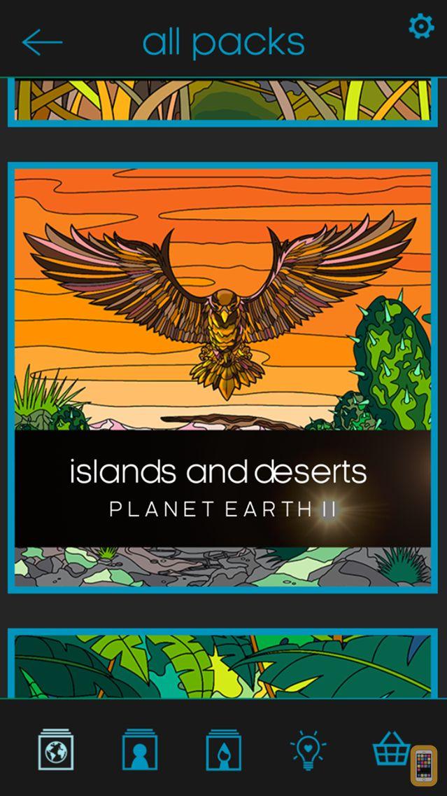 Screenshot - BBC Earth Colouring