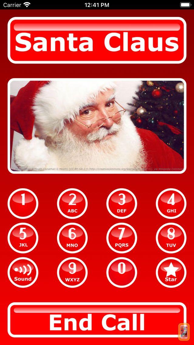 Screenshot - Santa Calls & Texts You