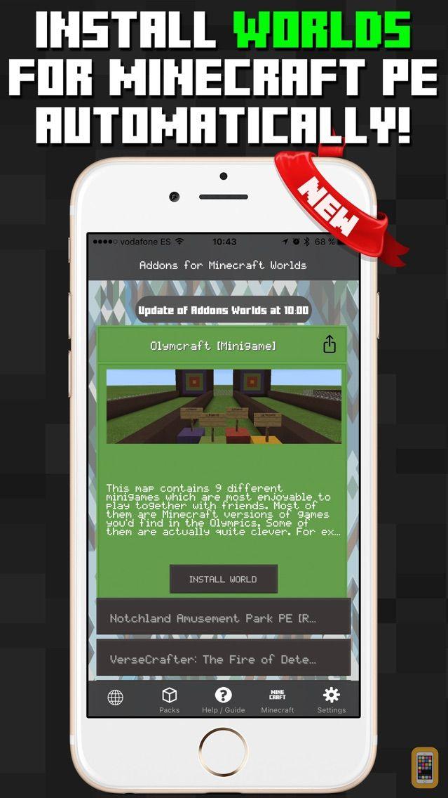 Screenshot - Addons for Minecraft PE Packs Worlds