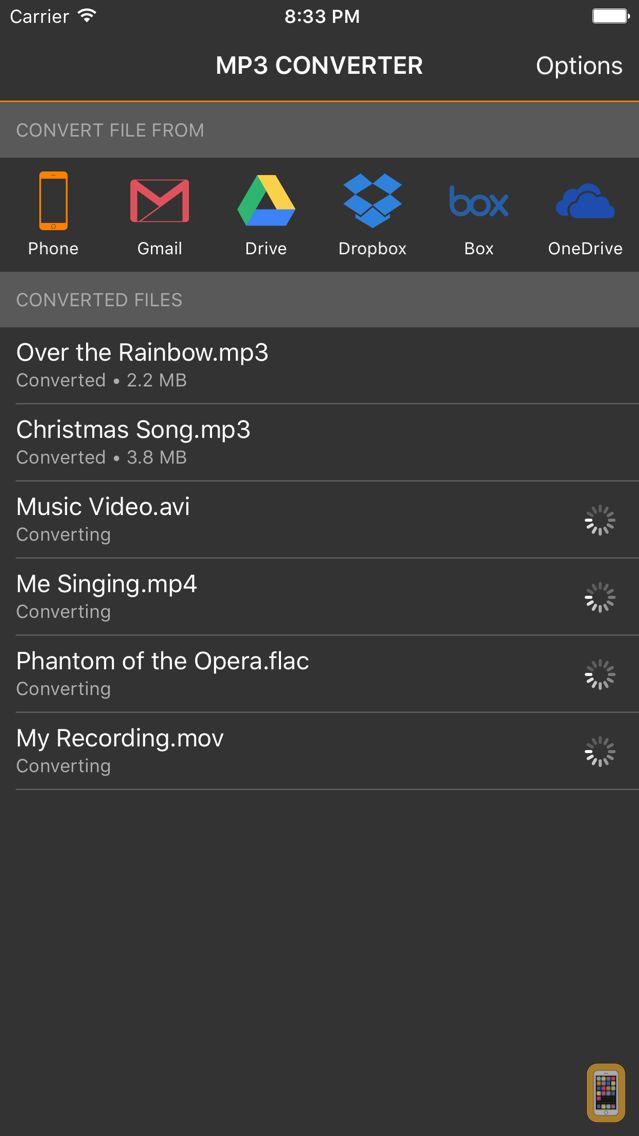 Screenshot - MP3 Converter - Convert Videos and Music to MP3