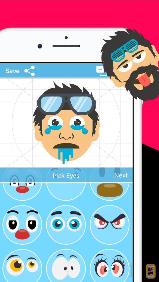 Screenshot - Face Moji Creator