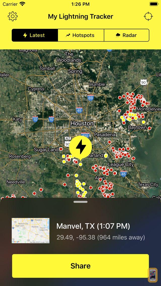 Screenshot - My Lightning Tracker Pro