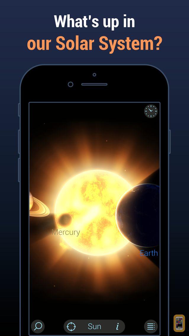 Screenshot - Solar Walk Lite:Planetarium 3D