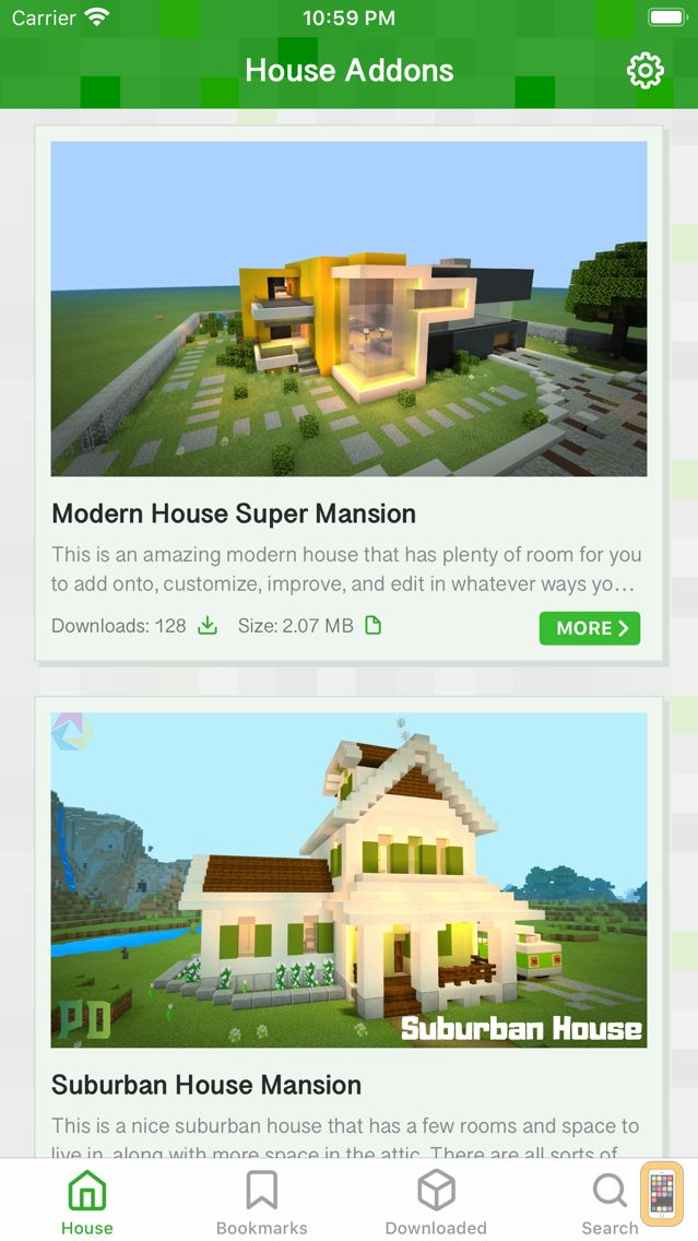 Screenshot - House Guide for Minecraft PE (Pocket Edition)