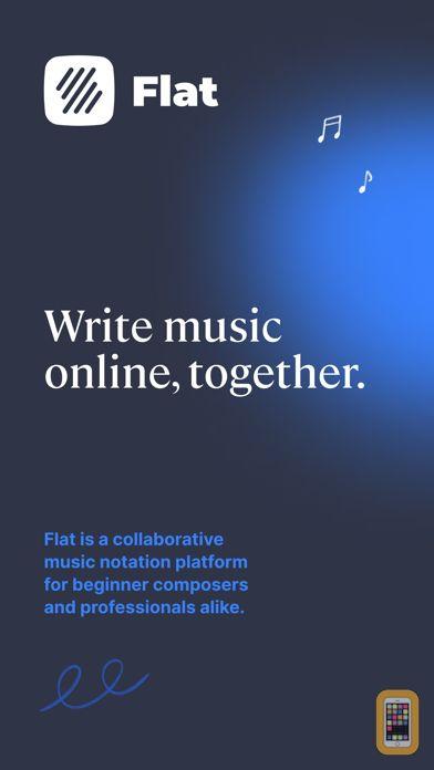 Screenshot - Flat: Music Score & Tab Editor
