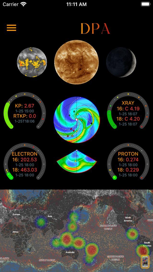 Screenshot - Disaster Prediction App