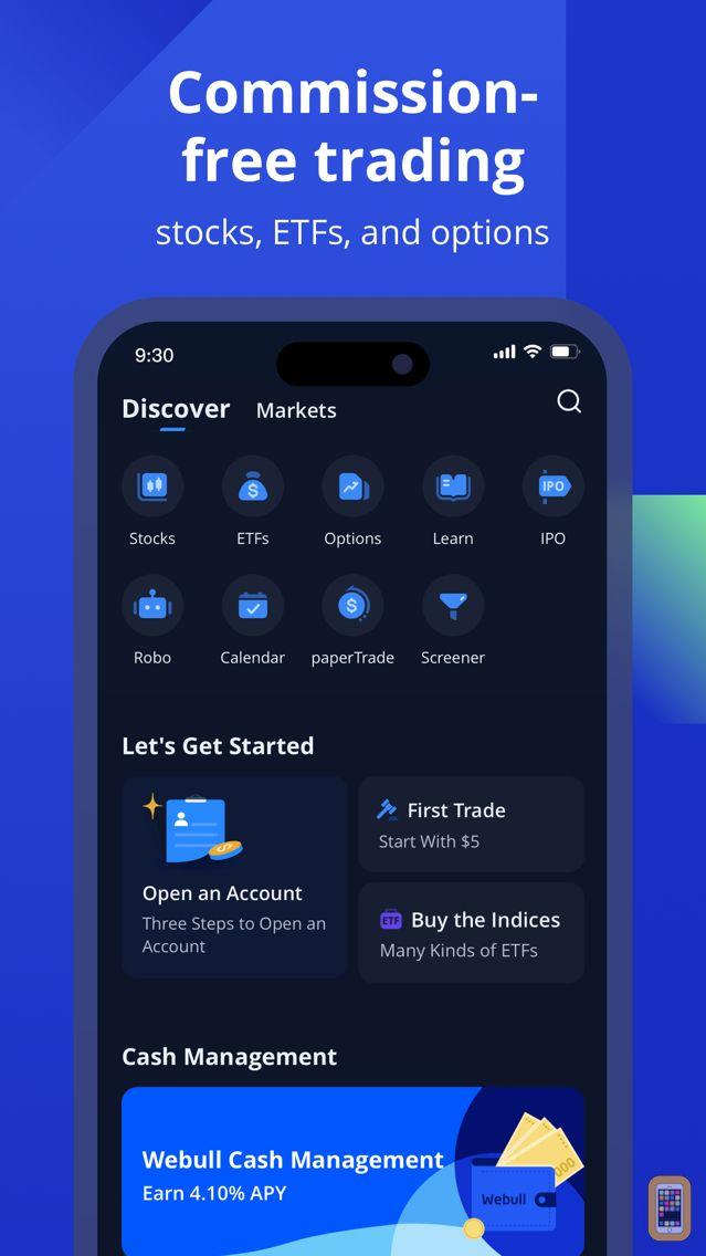 Screenshot - Webull: Investing & Trading
