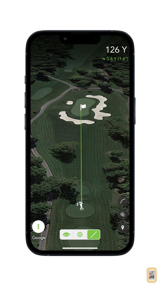 Screenshot - Golf Sight: Slope-Adjusted Rangefinder