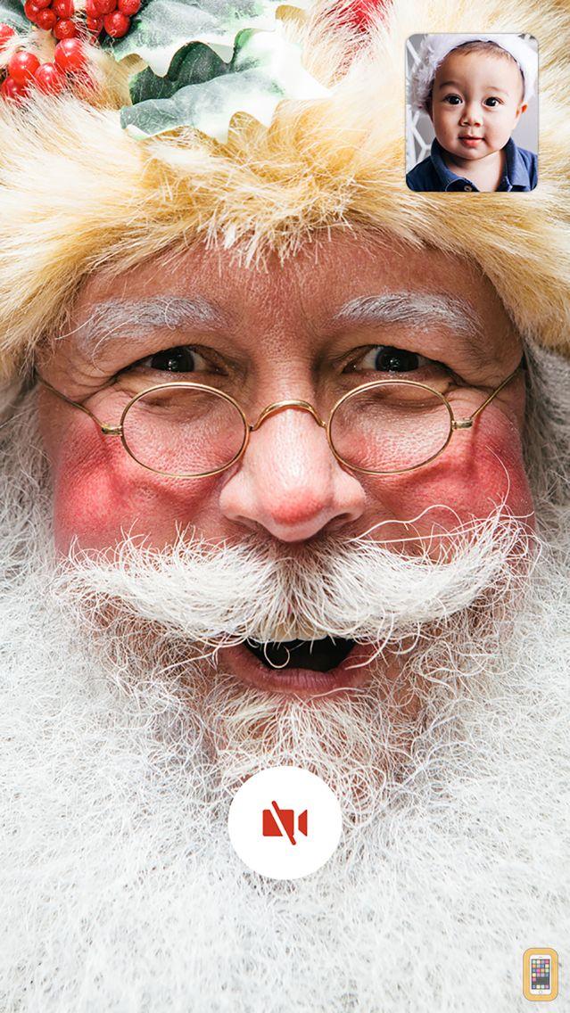 Screenshot - Talking Santa - Video santa claus calls you