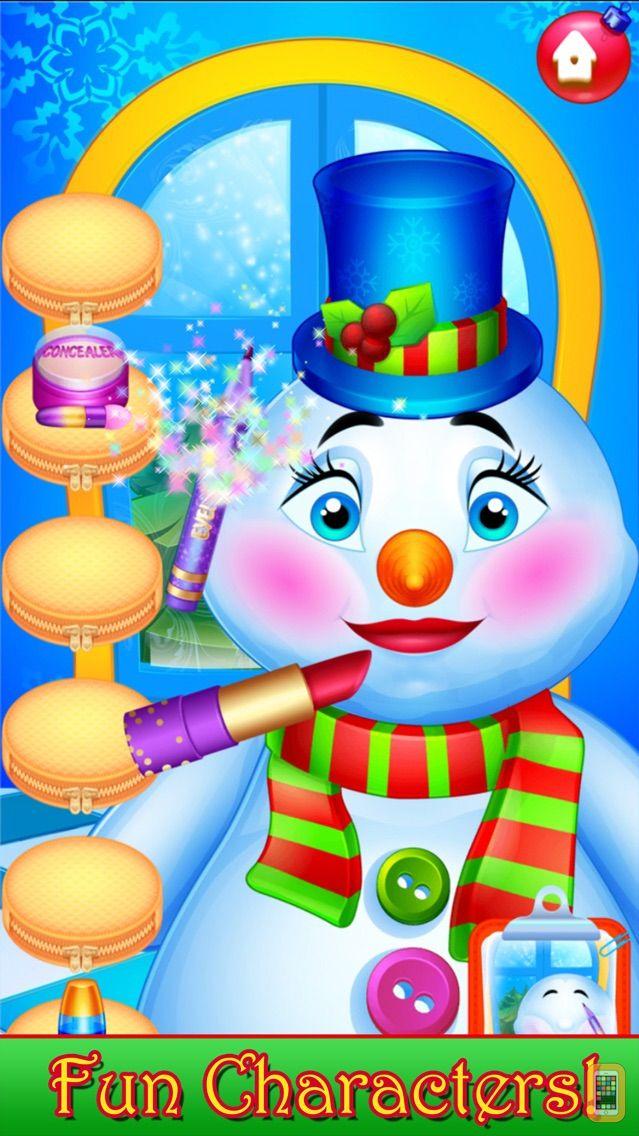 Screenshot - Santa Kids Hair Salon - Christmas Makeover Games
