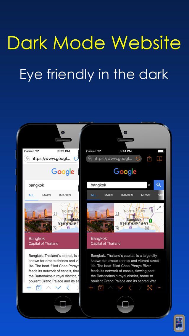 Screenshot - Dark Night Browser