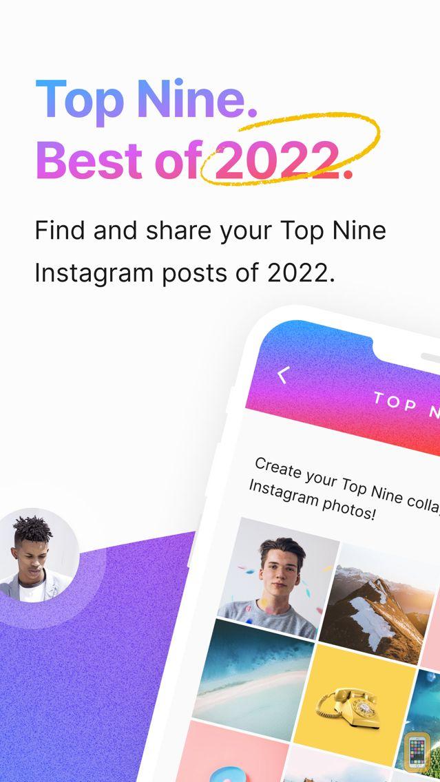 Screenshot - Top Nine for Instagram 2020 -
