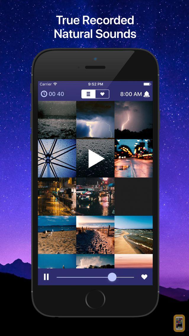Screenshot - Sleep Sounds: relaxing sounds