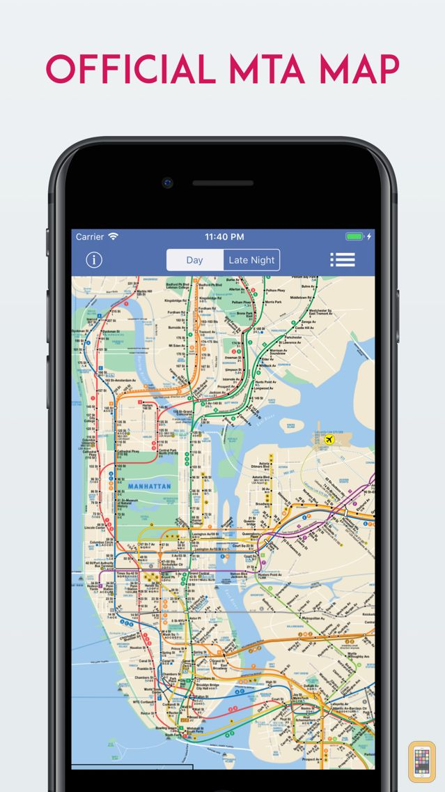 Free Nyc Subway Map.New York City Subway Map Free For Iphone Ipad App Info Stats