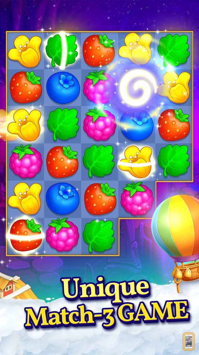 Screenshot - Puzzle Heart Match-3 Adventure