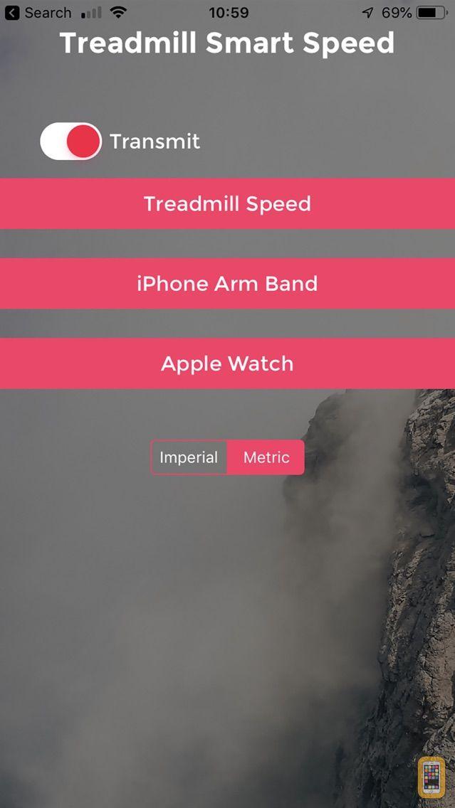 Screenshot - Treadmill Smart Speed
