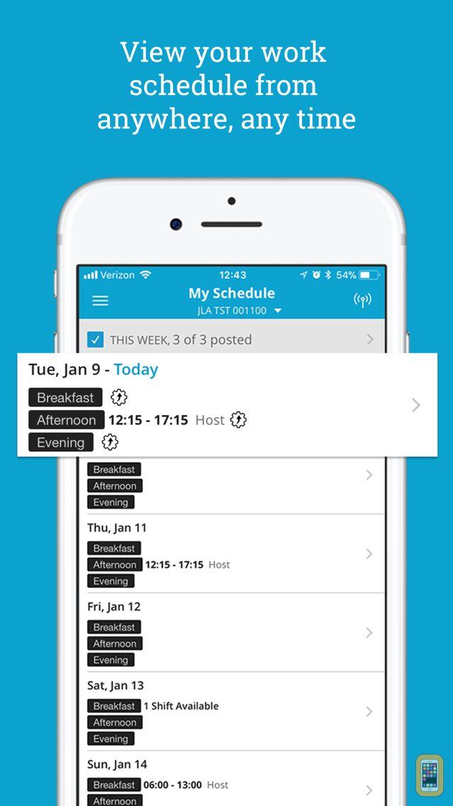 Screenshot - HS Team App