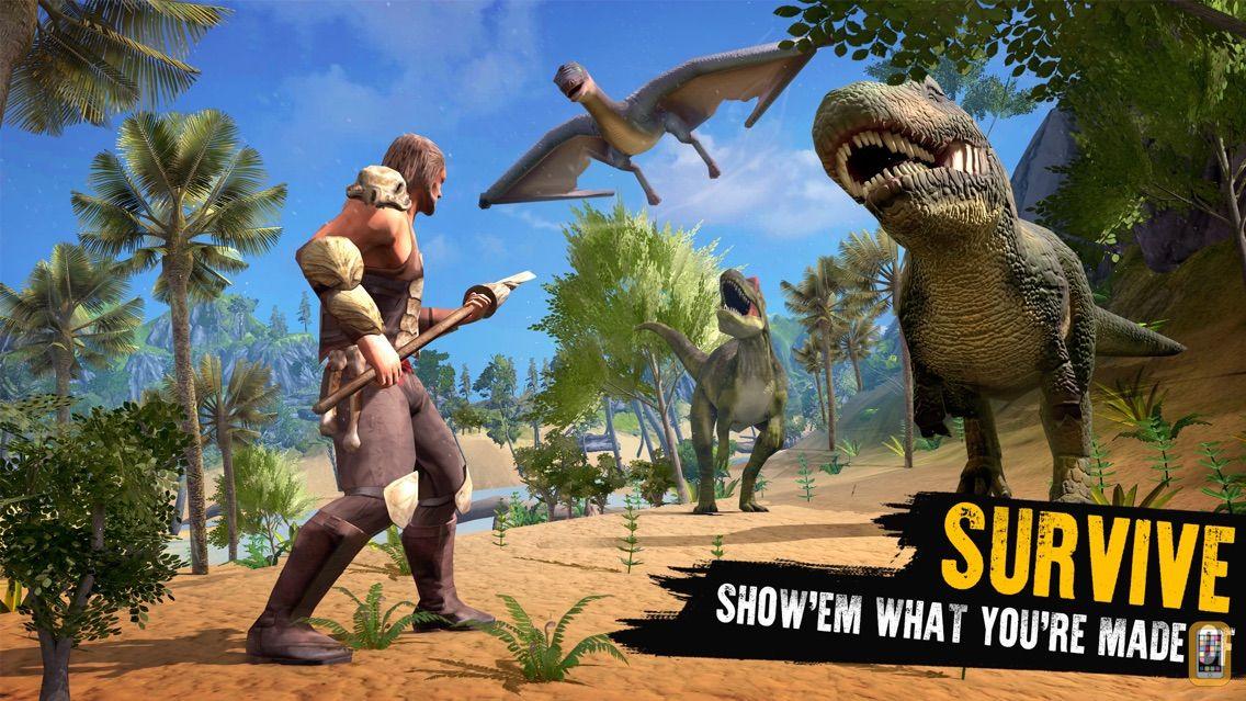 Screenshot - Jurassic Survival Island