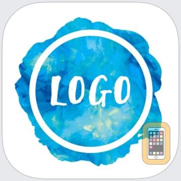 Watercolor Logo Maker by Tap Flat Apps, LLC (Universal)