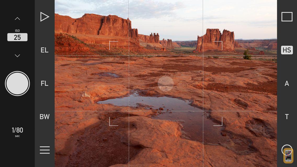 Screenshot - Technical Camera
