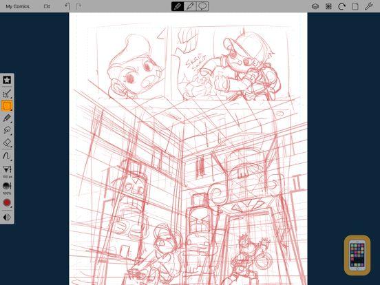 Screenshot - Comic Draw for Schools