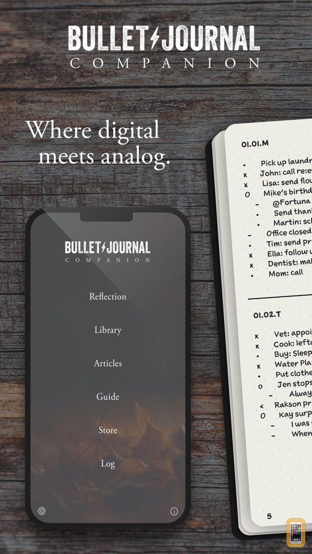 Screenshot - Bullet Journal Companion