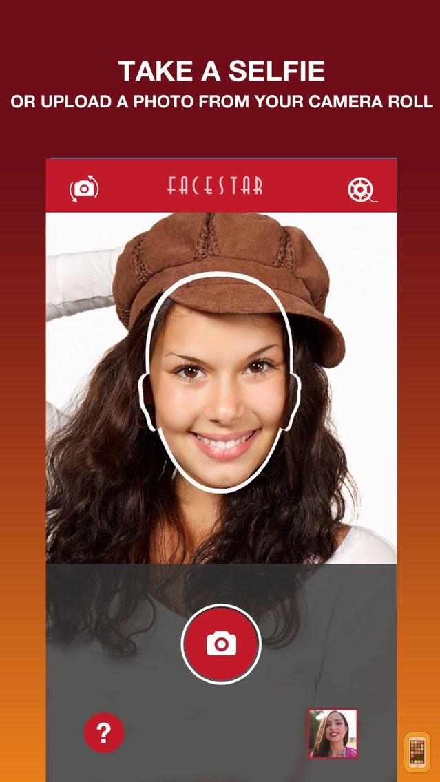 Screenshot - FaceStar App